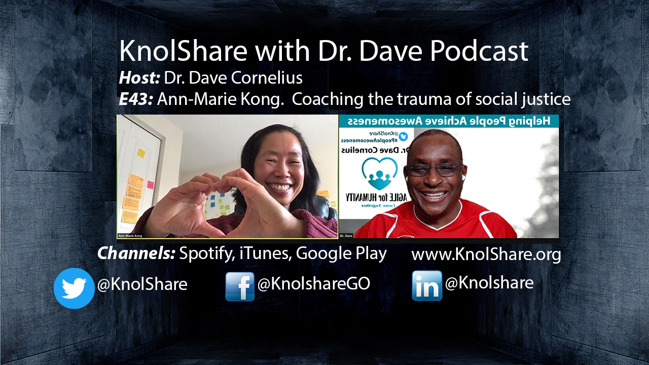 Ann-Marie Kong and Dr. Dave Cornelius
